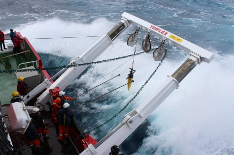 Deployment of Seaglider in challenging conditions