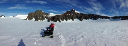 Geology fieldwork - SANAE, Antarctica