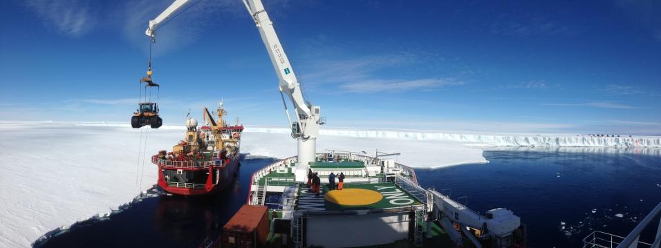 Logistics via the RV SA Agulhas II
