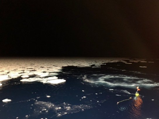 SWIFT buoy deployments in the sea ice zone