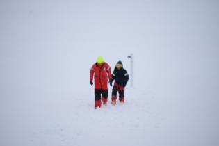 Ice Mass Balance Buoy deployment