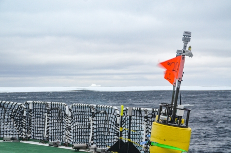 SWIFT buoys chilling on deck